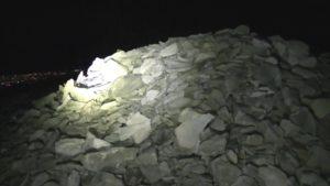 御霊櫃峠デンジャー1人登山の頂上