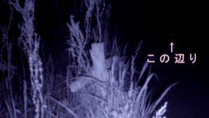 心霊スポットで有名なおじゃが池の隊長定点ミッション2