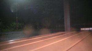 鹿児島県東光山公園、深夜に訪れたSKTが撮ったあずまや