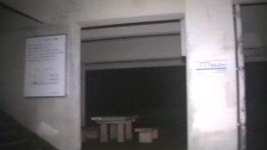 鹿児島県東光山公園、深夜に訪れたSKTが撮った塔の1階部分