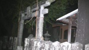 熊本県玉名市にある石塘橋の近隣にある神社