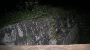 熊本県玉名市にある石塘橋の古い水門
