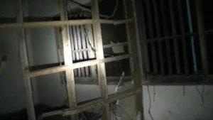 小川脳病院の患者を収容していた部屋