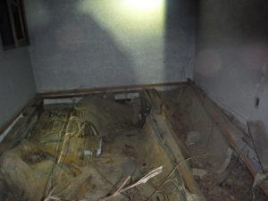 小川脳病院の最も奥まった部屋